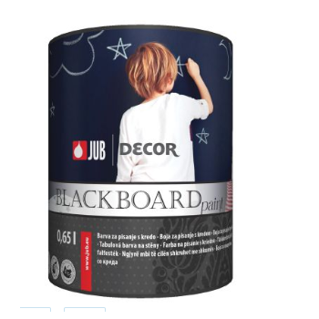 JUB DECOR Blackboard paint 0,65 l